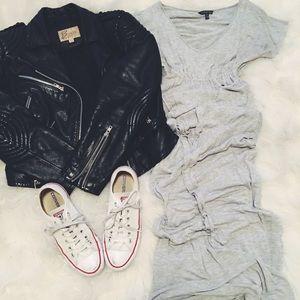 Forever21 Long Gray Dress